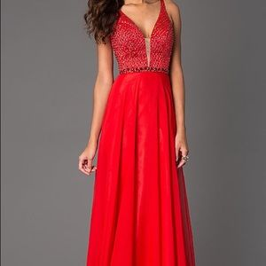 Sherri Hill Red Dress #32150
